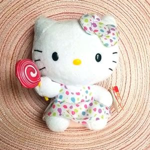 Hello Kitty TY Beanie Babies Plush NEW